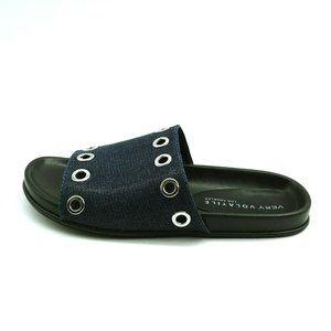 Very Volatile Womans Estaba Slide Sandal Black NEW